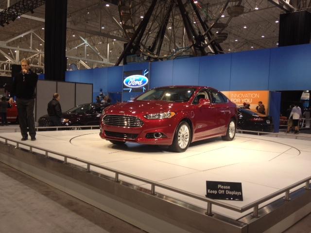 Ford Motor Company Comes To The Cleveland Auto Show Bob - Cleveland car show ix center